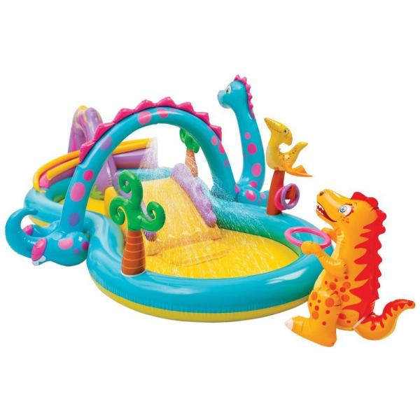Centru de joaca cu piscina Intex Dinoland 333x229x112 cm 0