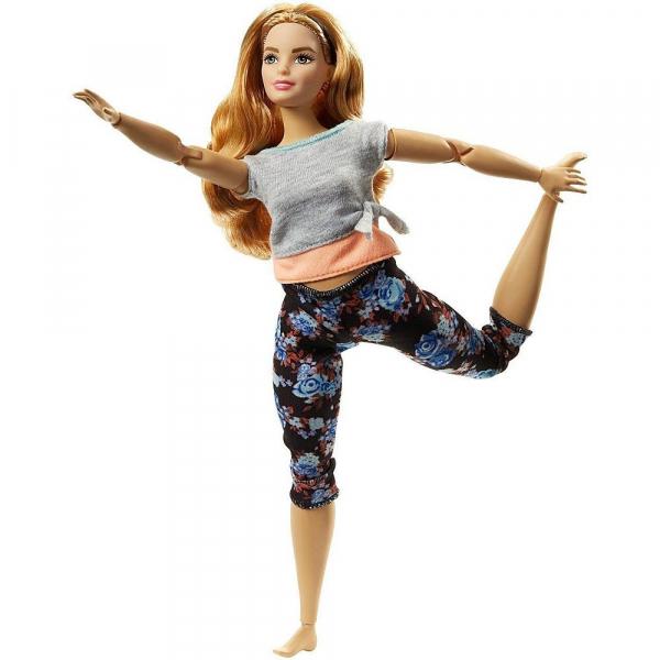 Papusa Mattel Barbie Flexibila Made To Move Satena 0