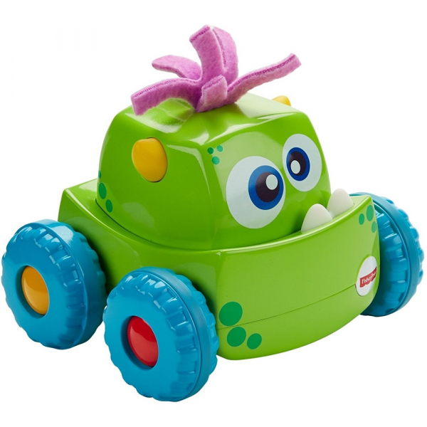Masinuta Fisher-Price Monster Verde 0