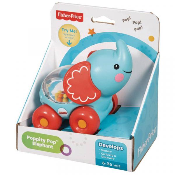 Vehicul Poppity elefant Fisher-Price 1