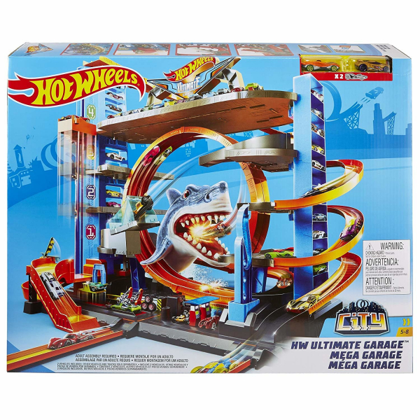 Garaj Mega Garage City Box Hot Wheels 0