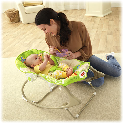 Balansoar Fisher-Price 2 in 1 Infant to Toddler Rainforest Friends 1