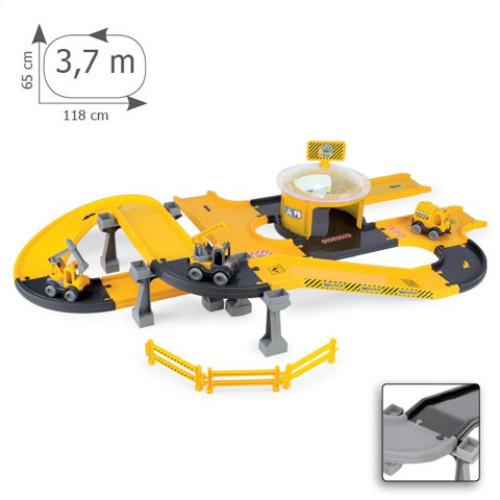 Circuit Constructii autostrazi cu masini Kid Cars 3D 3,7 m 10