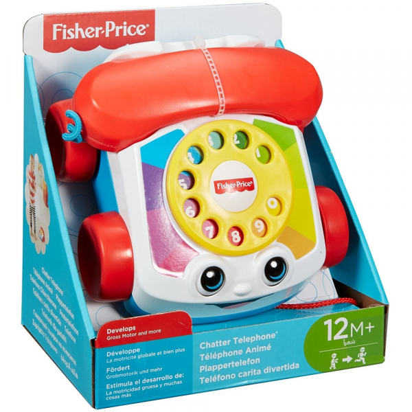 Jucarie interactiva Fisher-Price Telefon plimbaret cu sunete 2