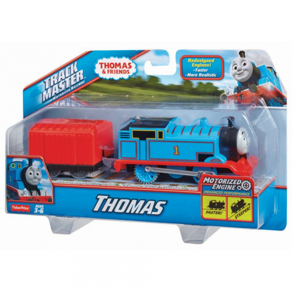 Thomas Trenulet Locomotiva Motorizata cu Vagon Thomas&Friends Track Master 3