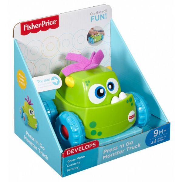 Masinuta Fisher-Price Monster Verde 2