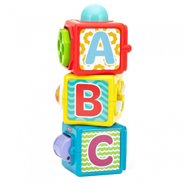 Jucarie educativa Fisher-Price Cuburi haioase 0