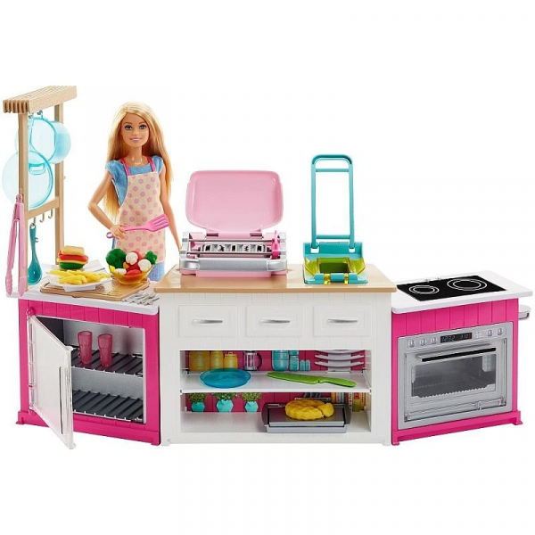 Set de joaca Mattel Barbie Bucatarie utilata 0