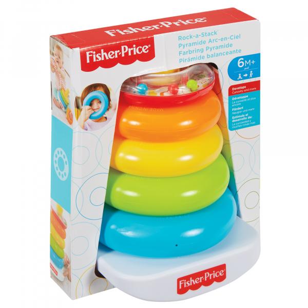 Jucarie bebelusi Fisher Price, Piramida Rock A Stack 0