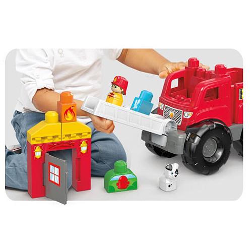 Masina Fisher-Price de Pompieri Mare Mega Bloks 3