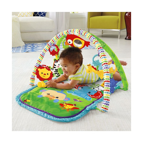Centru activitati muzical 3 in 1 Fisher Price Rainforest Musical Activity Gym 2