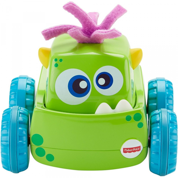 Masinuta Fisher-Price Monster Verde 1