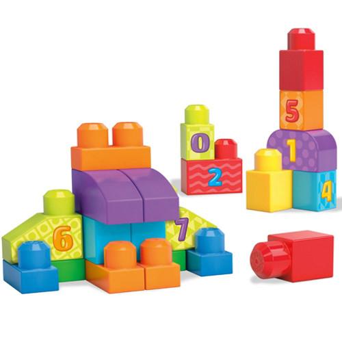 Set Fisher-Price de Construit Numere 20 de Piese Mega Bloks 1