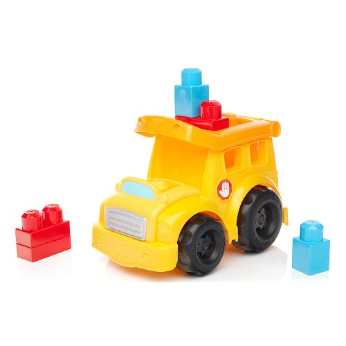 Autobuz Fisher-Price Scolar cu Cuburi Mega Bloks 2