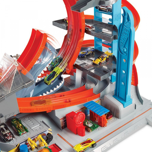 Garaj Mega Garage City Box Hot Wheels 2