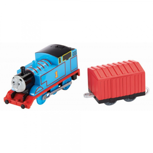 Thomas Trenulet Locomotiva Motorizata cu Vagon Thomas&Friends Track Master 5
