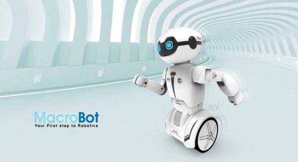 Robot programabil Silverlit Macrobot, telecomanda, albastru 5