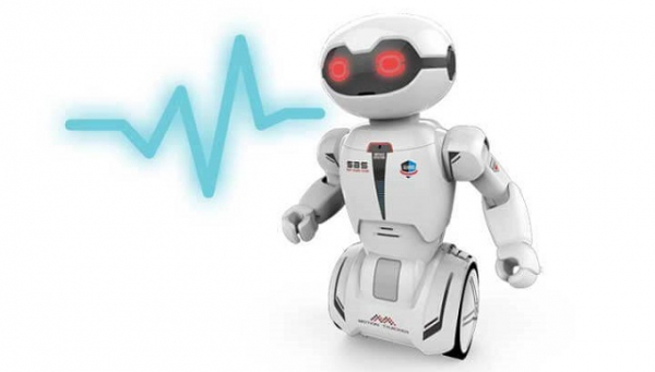 Robot programabil Silverlit Macrobot, telecomanda, albastru 7