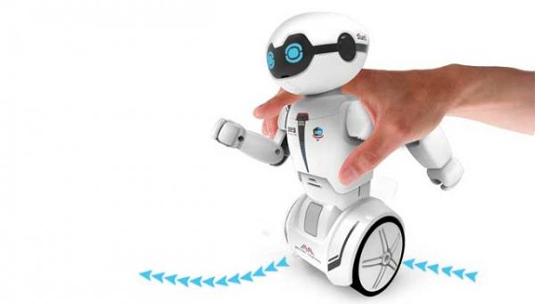Robot programabil Silverlit Macrobot, telecomanda, albastru 6