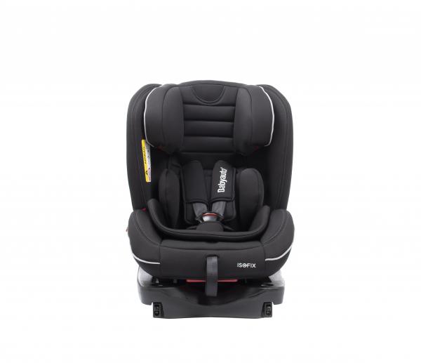 Scaun auto BABYAUTO INFINITY Fix, Dual Isofix, 0-36 kg, Negru/Gri 6