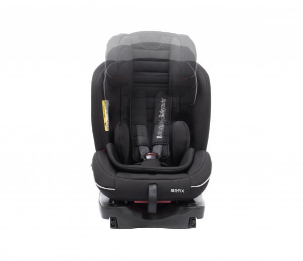 Scaun auto BABYAUTO INFINITY Fix, Dual Isofix, 0-36 kg, Negru/Gri 7