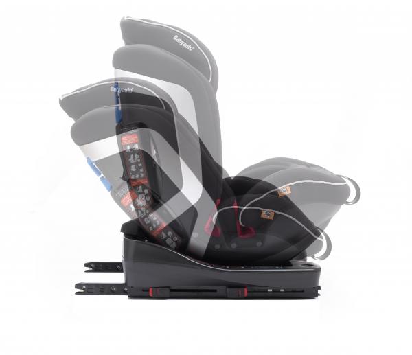 Scaun auto BABYAUTO INFINITY Fix, Dual Isofix, 0-36 kg, Negru/Gri 5