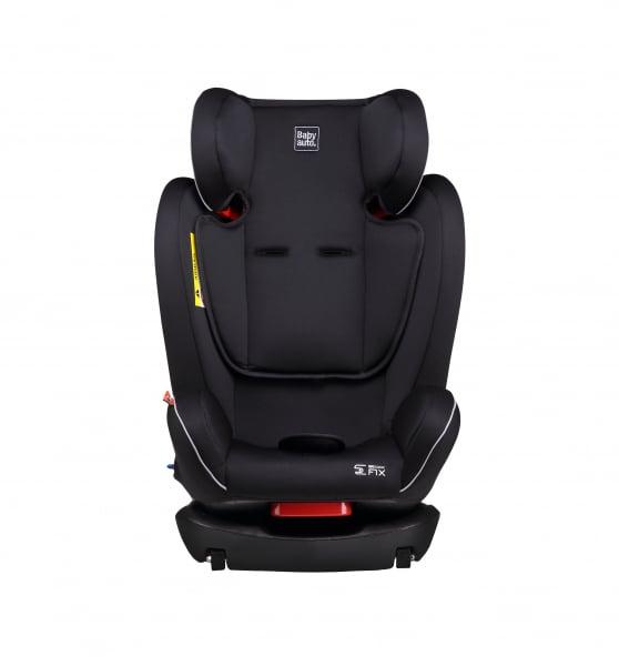Scaun auto BABYAUTO NOE Fix, Dual Isofix, 0-36 kg, Negru/Gri 9