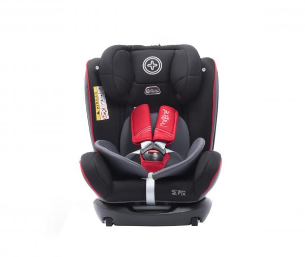 Scaun auto BABYAUTO MORE WERDU RWF, Dual Isofix, 0-36 kg, Gri/Rosu 2