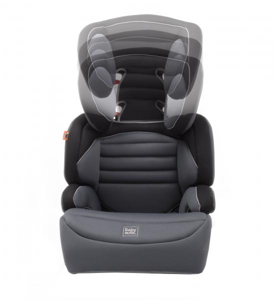 Scaun auto Babyauto Zarauz Sin Deluxe, 15-36 Kg, Negru/Gri 4