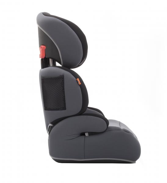 Scaun auto Babyauto Zarauz Sin Deluxe, 15-36 Kg, Negru/Gri 5
