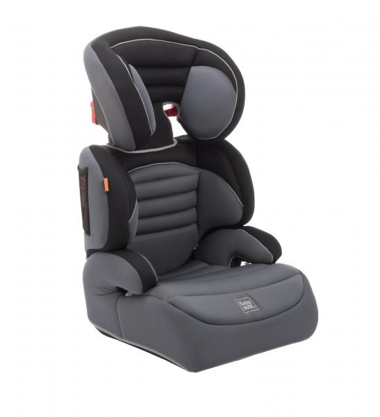 Scaun auto Babyauto Zarauz Sin Deluxe, 15-36 Kg, Negru/Gri 0