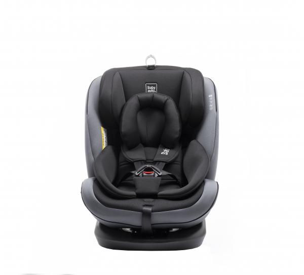 Scaun auto BABYAUTO VOLTA, Isofix, rotatie 360 grade, 0-36 kg, Gri 6