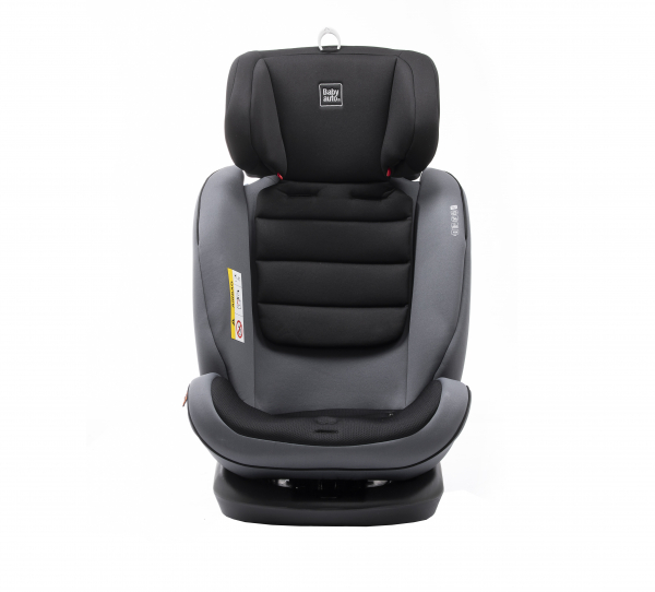 Scaun auto BABYAUTO VOLTA, Isofix, rotatie 360 grade, 0-36 kg, Gri 8