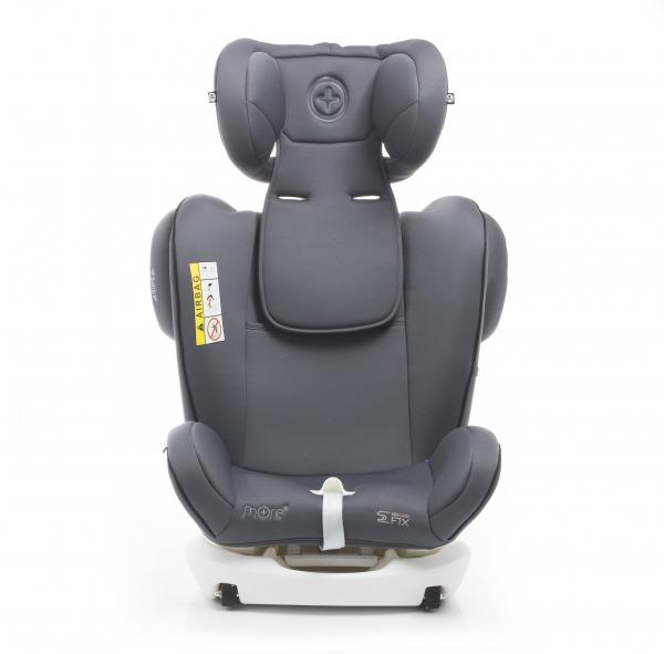 Scaun auto BABYAUTO WERDU PLUS, Dual Isofix, 0-36 kg, Gri/Negru 12