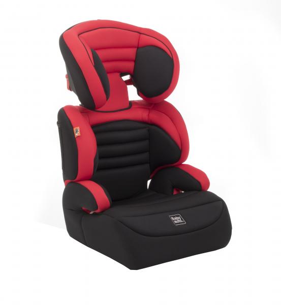 Scaun auto Babyauto Zarauz Sin Deluxe, 15-36 Kg, Negru/Rosu 0