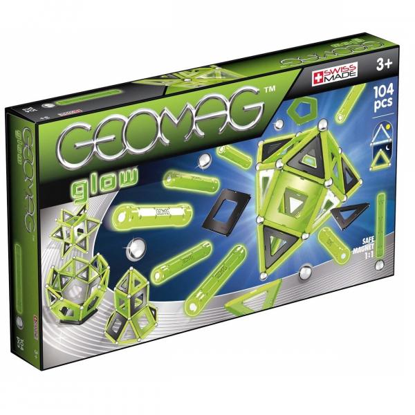 Set Constructie Geomag Panels Glow 104 piese [0]