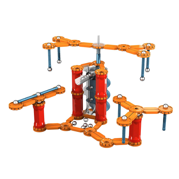 Set constructie magnetic Geomag Gravity Race Track 115 piese 1