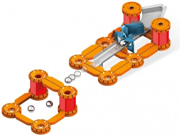 Set constructie magnetic Geomag Mechanics Challenge 95 piese 3