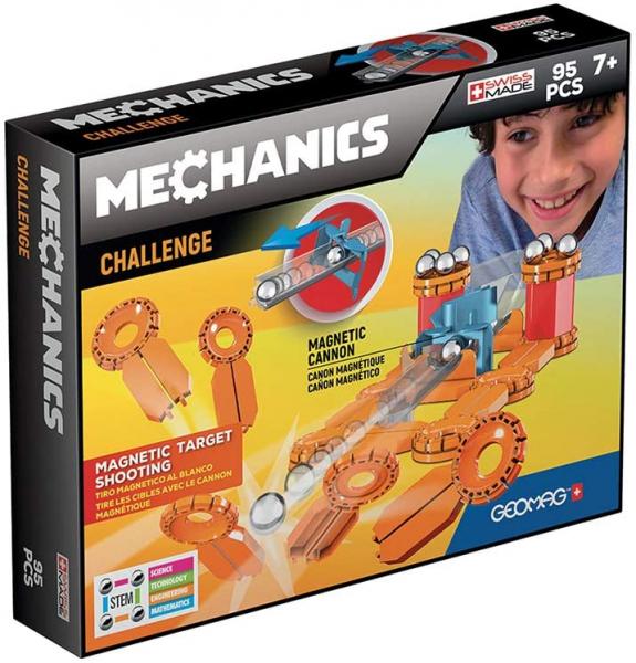 Set constructie magnetic Geomag Mechanics Challenge 95 piese 0