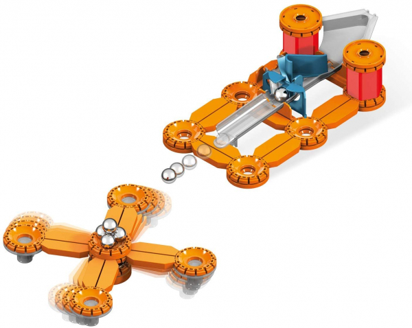 Set constructie magnetic Geomag Mechanics Challenge 95 piese 1