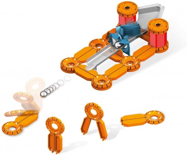 Set constructie magnetic Geomag Mechanics Challenge 95 piese 2