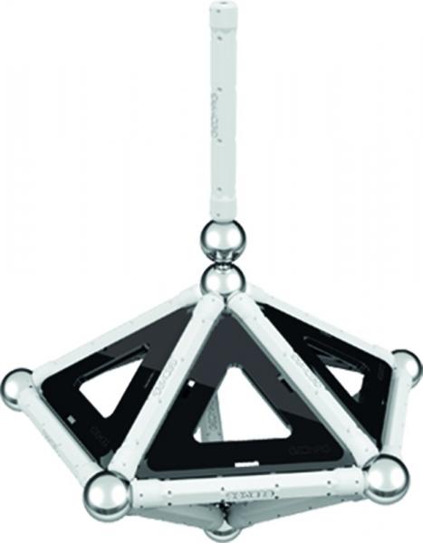 Set de constructie magnetic Geomag Black&White 68 piese 4