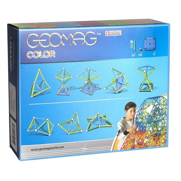 Set de constructie magnetic Geomag color 35 piese 3