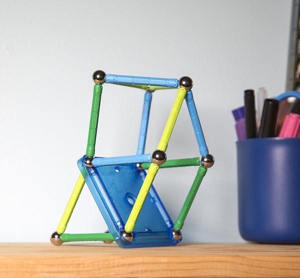 Set de constructie magnetic Geomag color 35 piese 2
