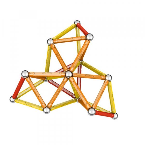 Set de constructie magnetic Geomag Color 64 piese 4