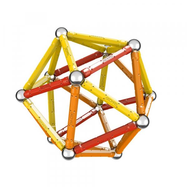 Set de constructie magnetic Geomag Color 64 piese 2