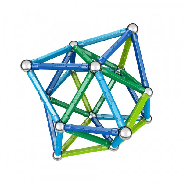 Set de constructie magnetic Geomag Color 91 piese 5