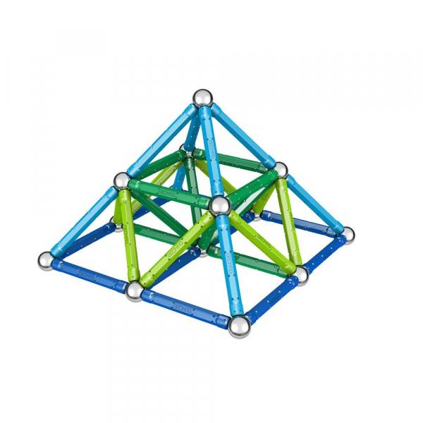 Set de constructie magnetic Geomag Color 91 piese 2