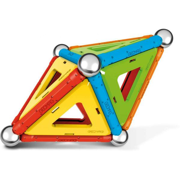 Set de constructie magnetic Geomag, Confetti, 50 piese 3