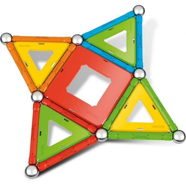 Set de constructie magnetic Geomag, Confetti, 50 piese 2